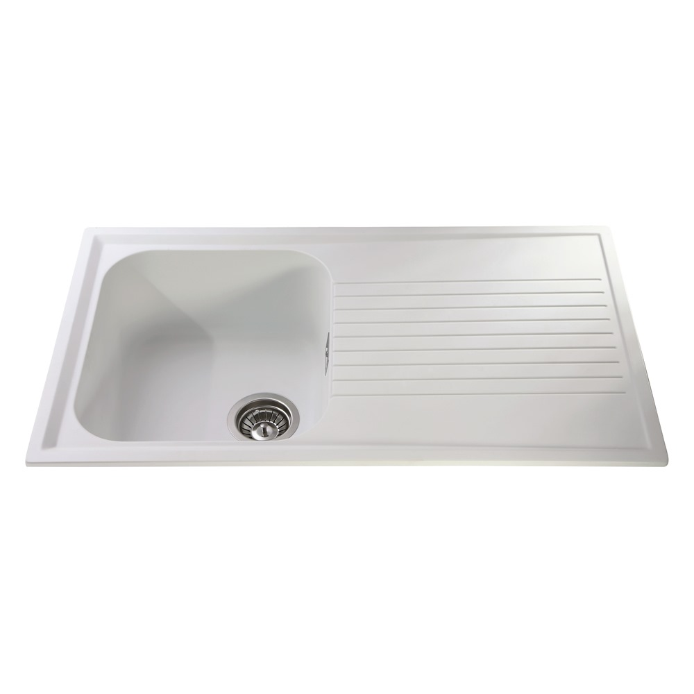 AS1WH - Composite single bowl sink | CDA Appliances | Built for your ...