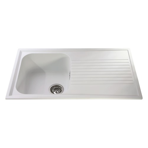 AS1WH - Composite single bowl sink