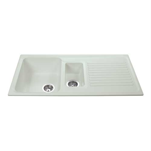 AS2CM - Composite one and a half bowl sink