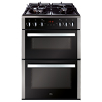 CFD650SS - 60cm double cavity freestanding cooker