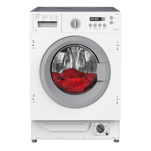 CI361 - 6kg Integrated washing machine
