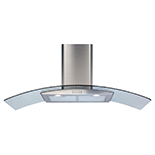 ECP112SS - Curved glass extractor