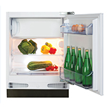 FW253 - Integrated/ under counter fridge with ice box