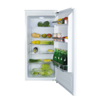 FW522 - Integrated three-quarter height fridge