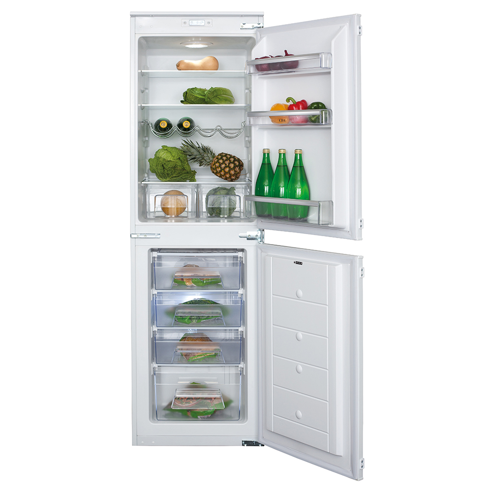 4 products in integrated fridge freezers