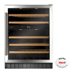 FWC604SS - Freestanding/ under counter wine cooler