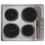 HE6051SS - Four plate electric hob