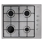 HG6150SS - Four burner gas hob