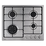 HG6250SS - Four burner gas hob