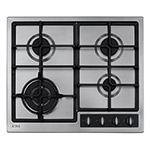 HG6350LSS - Four burner LPG gas hob