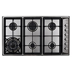HG9320SS - Six burner gas hob