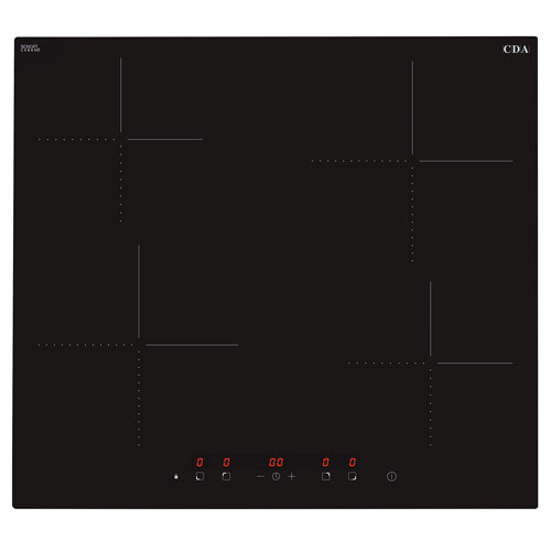 HN6412FR - Four zone eco induction hob