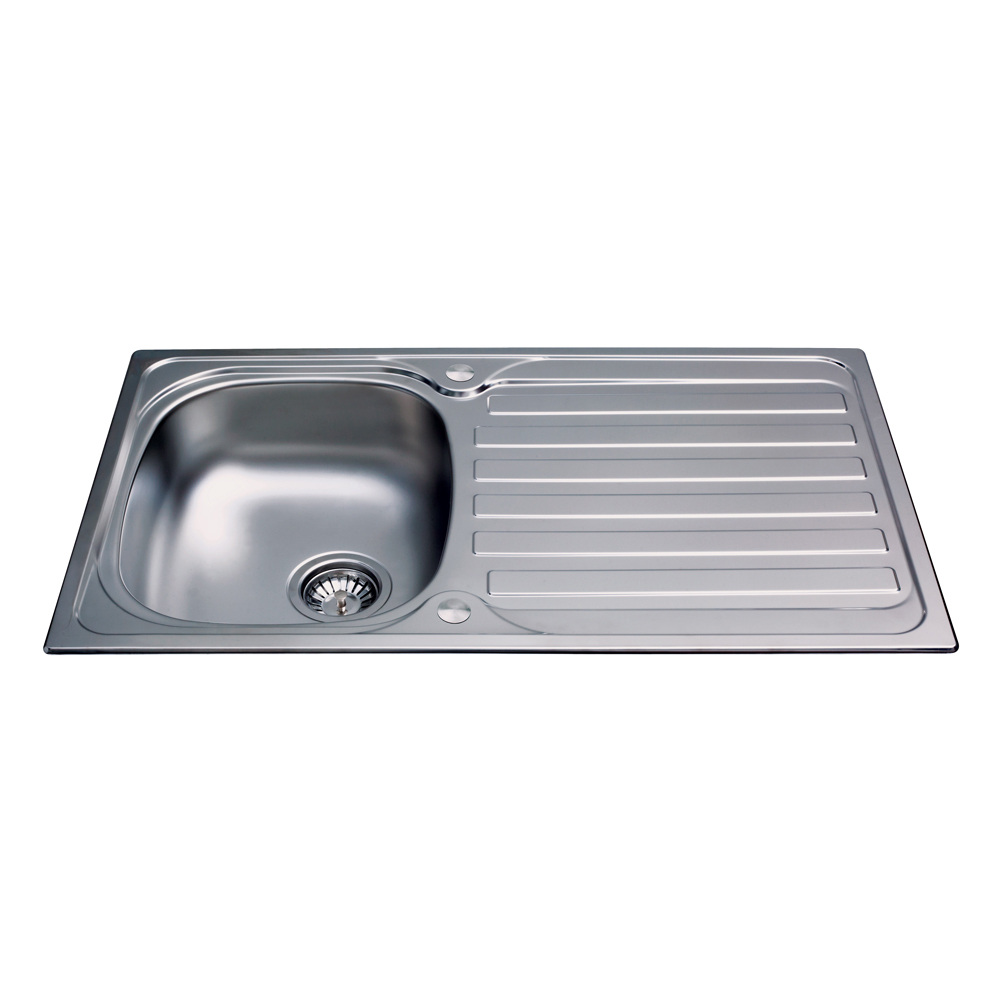 KA20SS Stainless Steel Compact Single Bowl Sink