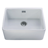 KC11WH - Ceramic Belfast style sink