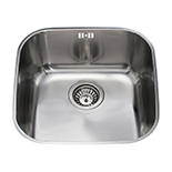 KCC23SS - Stainless steel undermount single bowl sink
