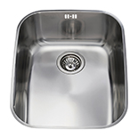 KCC24SS - Stainless steel undermount rectangular single bowl