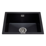 KMG24BL - Composite undermount/inset single bowl sink