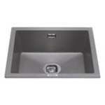 KMG24GR - Composite undermount/inset single bowl sink