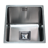 KSC22SS - Stainless steel undermount three quarter bowl sink