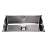KSC25SS - Stainless steel undermount large single bowl sink