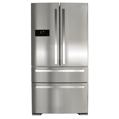 freestanding American fridge freezer