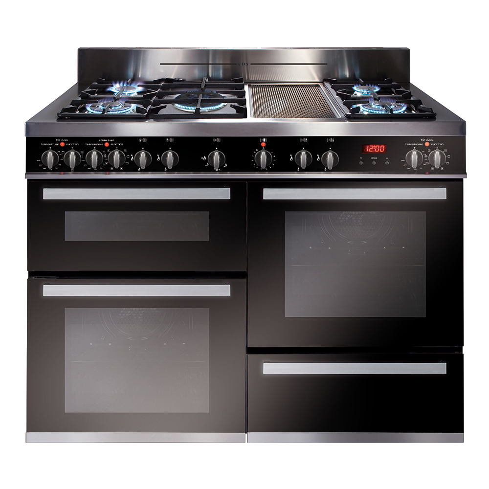 Rv1200ss 120cm Multiple Cavity Dual Fuel Range Cooker