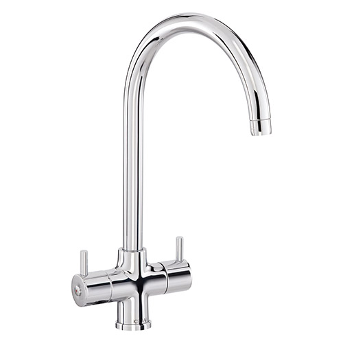 TC55CH - Monobloc tap with swan neck spout