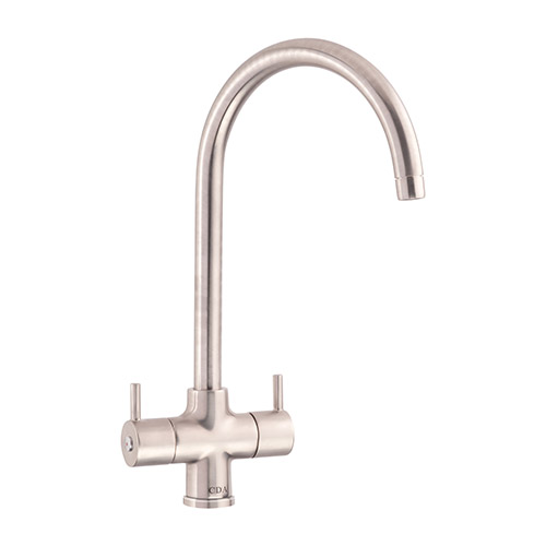 TC55NI - Monobloc tap with swan neck spout