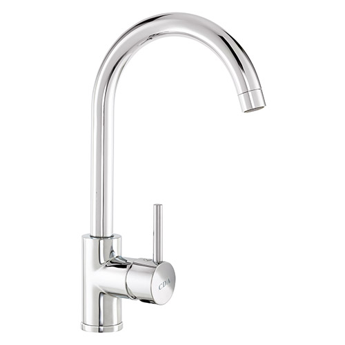 TC57CH - Side single lever tap with swan neck spout