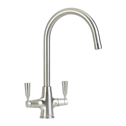 TT41NI - Traditional quarter turn lever monobloc tap
