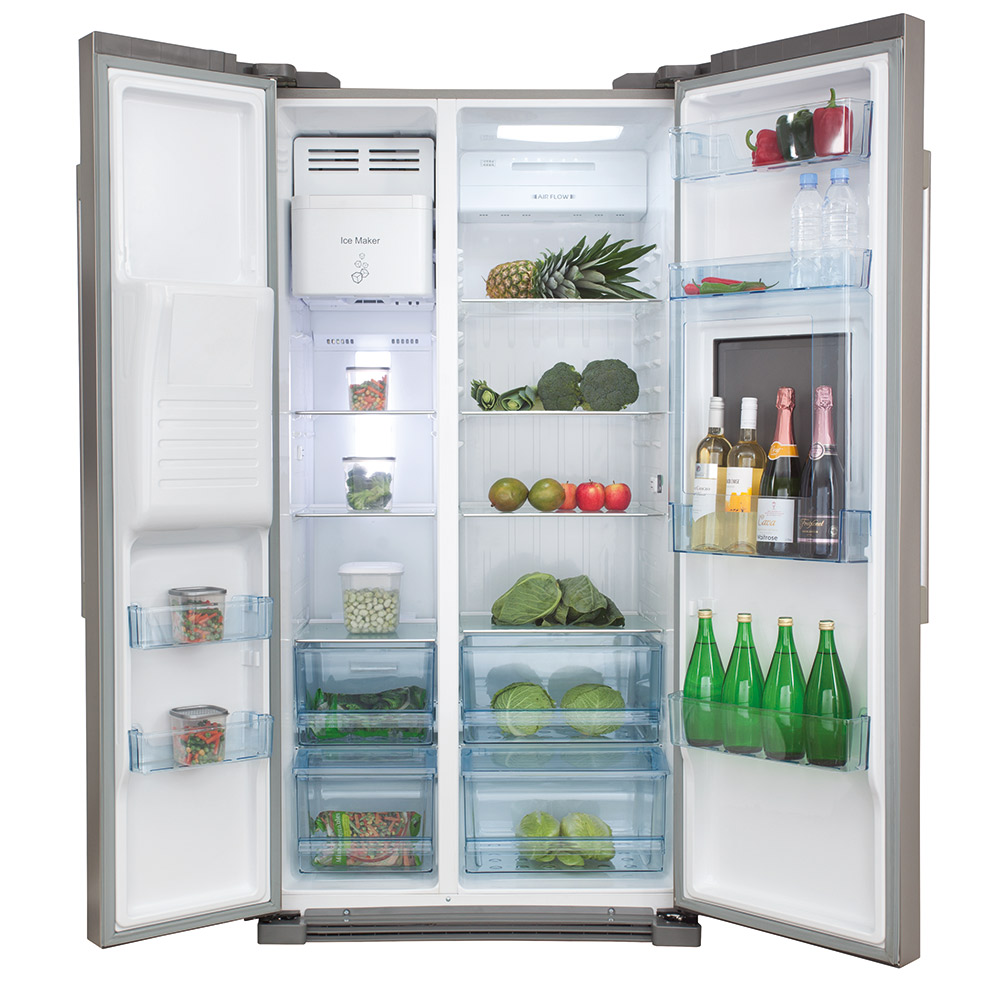 Side by side integrated fridge freezer - Pc71sc Pc71sc Pc71sc Pc71sc Pc71sc