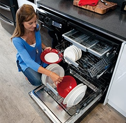 Dishwasher capacity image
