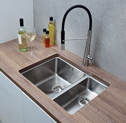 CDA sink in kitchen working