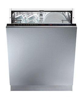 a picture of an integrated dishwasher