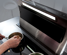 a picture of a downdraft extractor