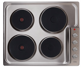 a picture of an electric hob