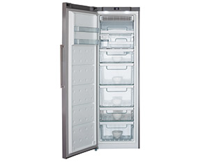 a picture of a freestanding freezer