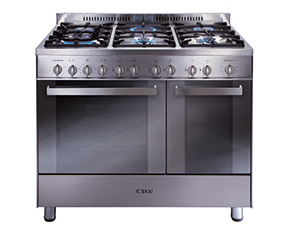 a picture of a gas range cooker
