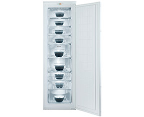 a picture of an integrated freezer