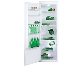 a picture of an integrated fridge