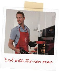 oven and dad