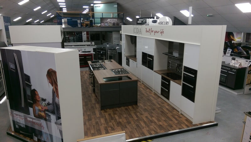 We Have Created A Welcoming Kitchen Environment Within The Showroom To Invite Customers Onto Cda Stand And Explore What Our Liances Offer