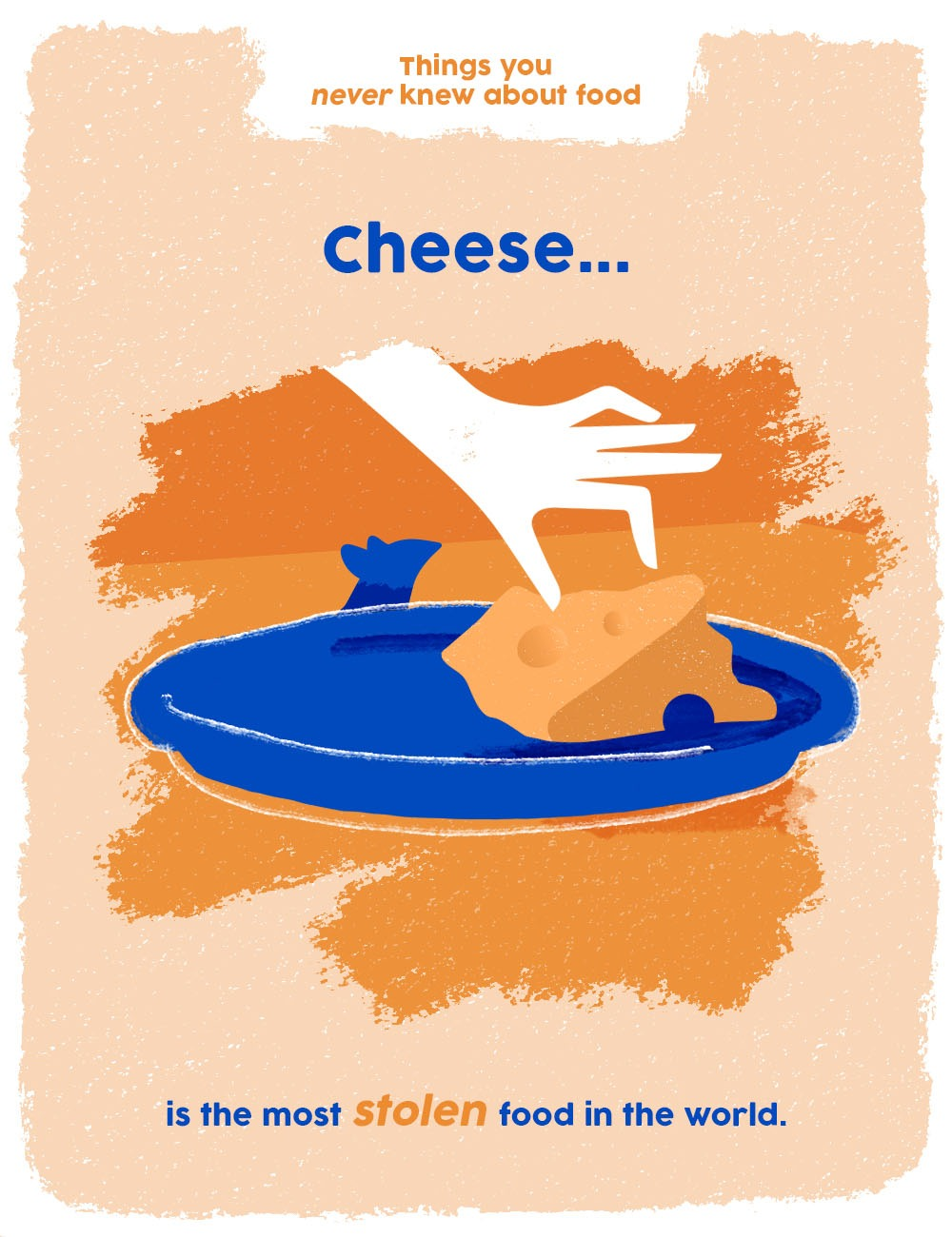 things you never knew about food graphics - cheese facts