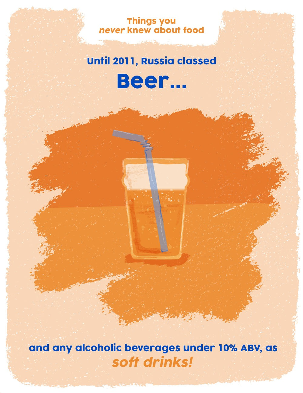 things you never knew about food graphics - beer facts